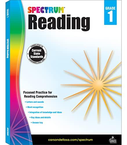 9781483812144: Spectrum Reading Workbook, Grade 1