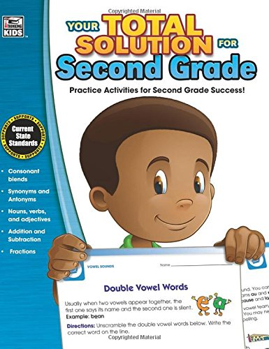 Your Total Solution for Second Grade Workbook (Your Total Solution)