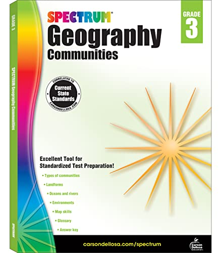 9781483813004: Spectrum Geography, Grade 3: Communities