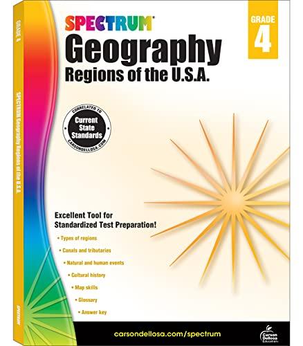 Spectrum Geography, Grade 4: Regions of the U.S.A.: Spectrum