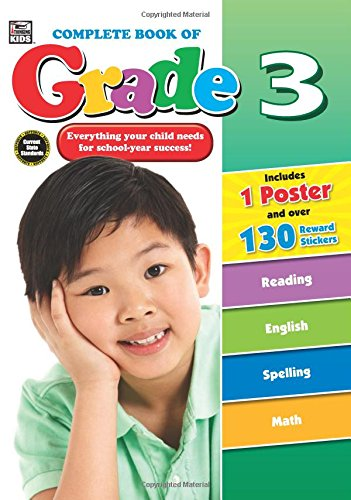 Complete Book of Grade 3: Thinking Kids