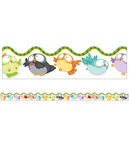 9781483813905: Owl Pals Scalloped Borders