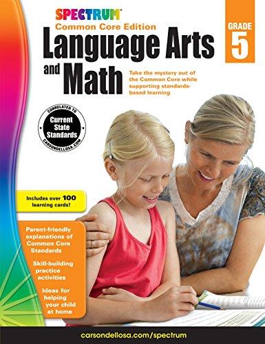 Spectrum Language Arts and Math, Grade 5: Spectrum