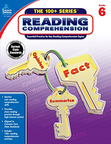 9781483815640: Reading Comprehension, Grade 6 (The 100+ Series™)
