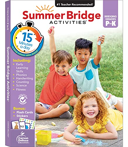 Summer Bridge Activities Prek-k: Summer Bridge Activities
