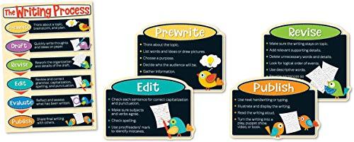 Boho Birds Writing Process Bulletin Board Set: Carson-dellosa Publishing (Corporate Author)