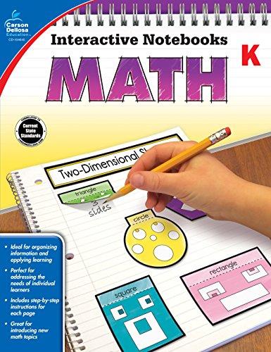 9781483824611: Math, Grade K (Interactive Notebooks)