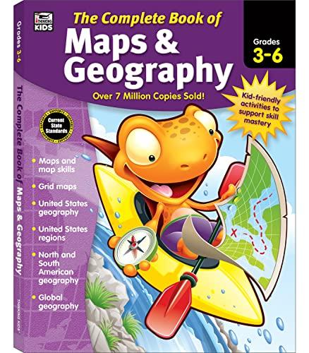 9781483826882: Carson Dellosa – The Complete Book of Maps ...