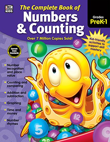 9781483826905: The Complete Book of Numbers & Counting, Grades PK - 1