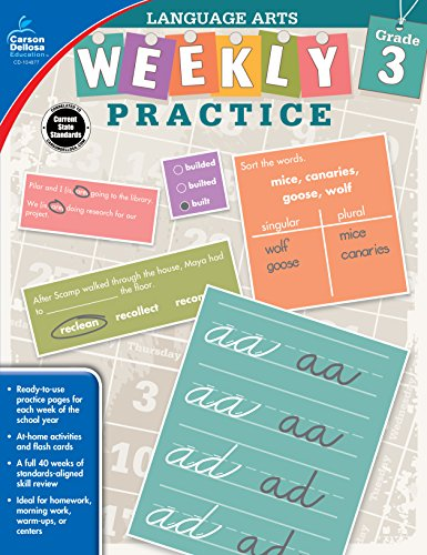 Language Arts, Grade 3 (Weekly Practice): Amy Payne