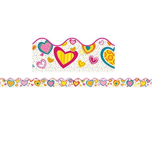 9781483828381: Hearts Scalloped Borders