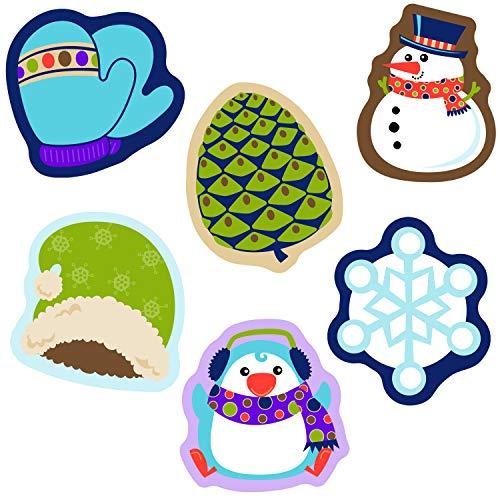 9781483828596: Winter Mix Mini Colorful Cut-outs