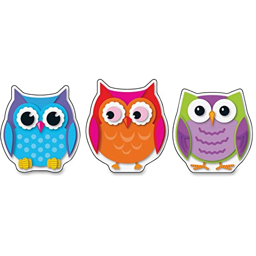 9781483829104: Colorful Owls Cut-outs