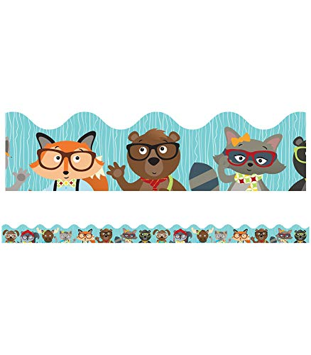 9781483830056: Hipster Pals Scalloped Borders