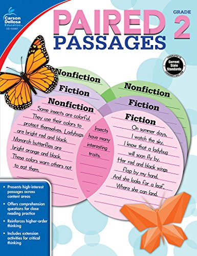 9781483830667: Paired Passages, Grade 2