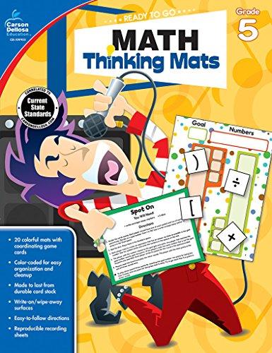 Math Thinking Mats, Grade 5 (Ready to Go)