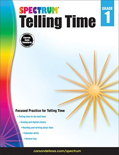 9781483831091: Telling Time, Grade 1 (Spectrum)