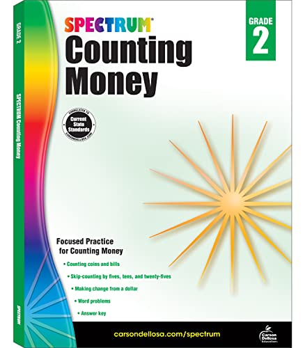Counting Money, Grade 2: Spectrum