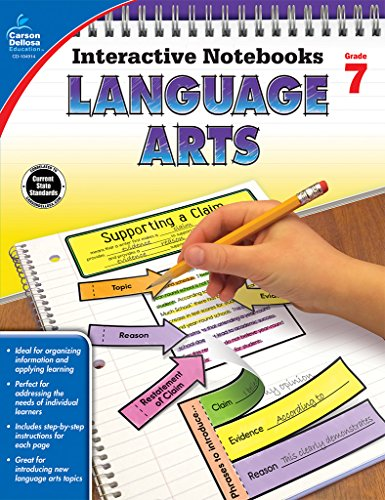 9781483831305: Language Arts, Grade 7 (Interactive Notebooks)