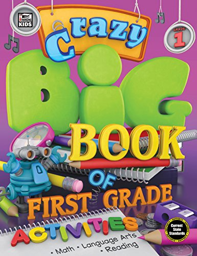 9781483835075: Crazy Big Book of First Grade Activities
