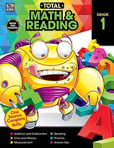 9781483835587: Total Math and Reading, Grade 1