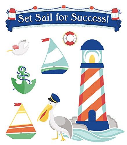 S.S. Discover Set Sail for Success! Bulletin Board Set: Carson-Dellosa Publishing
