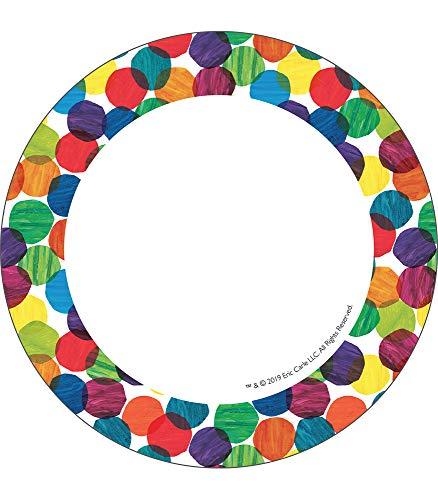 9781483854526: Carson Dellosa – World of Eric Carle™ Dots Colorful Cut-Outs, Classroom Décor, 36 Pieces