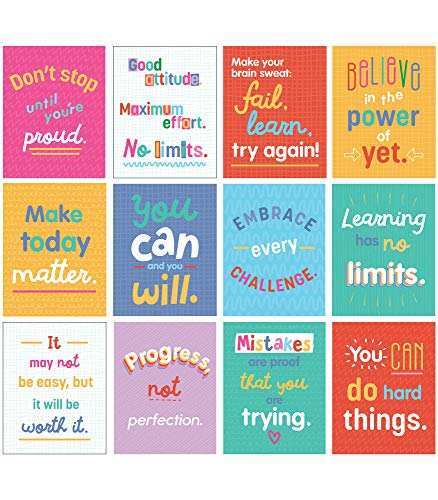 9781483856353: Growth Mindset Quotes (Mini Posters)
