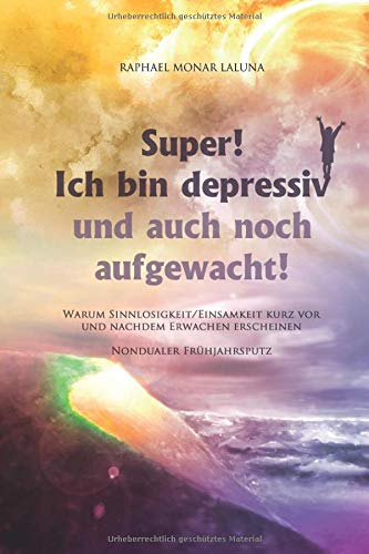 9781483906737: Super! Ich bin depressiv!: Und auch noch aufgewacht! (Nondualer Frühjahrsputz) (German Edition)