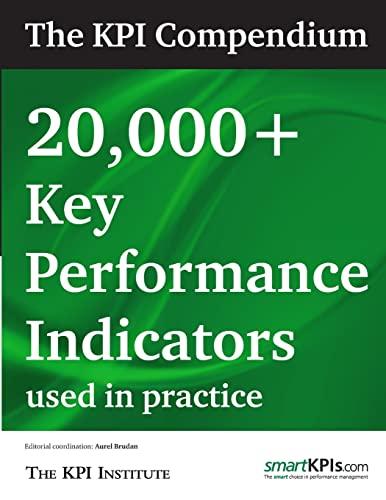 The KPI Compendium: 20,000 Key Performance Indicators used in practice: The KPI Institute