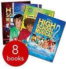 9781483917443: High School Musical Ultimate BOX Set: Sharpay's Fabulous Adventure - Stories From East High #1-4:battle of the Bands, Wildcat Spirit, Hannah Montana, High School Musical Movie Books #1-3