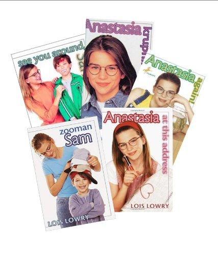 9781483935874: Anastasia Krupnik Book Set (4) : Anstasia Again - Zooman Sam - Anastasia At This Address (An Unofficial Box Set)