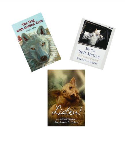 9781483940182: 6th Grade Books : The Dog with the Golden Eyes - My Cat Spit Mcgee - Listen (Book Sets for Kids : Grade 5 - 7)