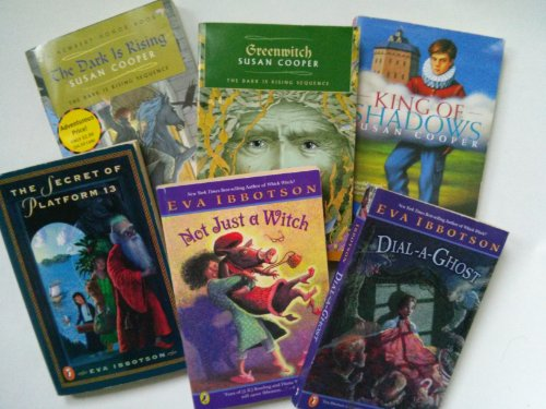 9781483953816: Children Fantasy Books (Grade 4-7): the Secret of Platform 13; Not Just a Witch; Dial a Ghost; Greenwich; the Dark Is Rising; King of the Shadows