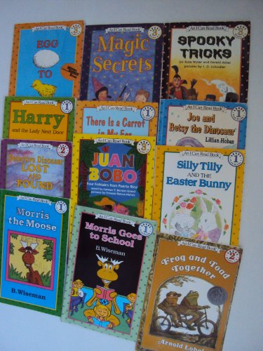 9781483954080: I Can Read Collection: Juan Bobo, Four Folktales From Puerto Rico - Harry and the Lady Next Door - Morris the Moose - Sam the Minuteman - Detective Dinosaur Lost and Found - Reading Rainbow, Egg to Chick - Joe and Betsy the Dinosaur- Spooky Tricks (Book Sets for Kids: Oscar Otter, There's a Carrot in my air and Other Noodle Tales, Merry Christmas Amelia Bedelia)