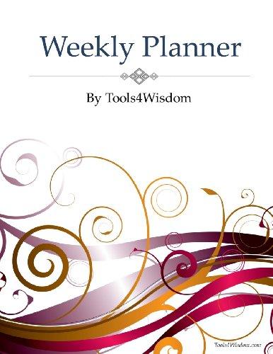 9781483964744: Weekly Planner