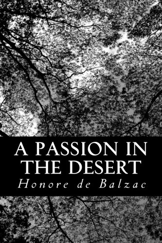 9781483966793: A Passion in the Desert