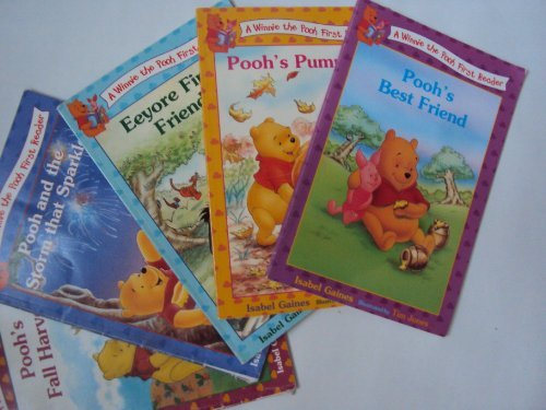 9781483973494: Disney Winnie the Pooh First Readers Series: Pooh's Fall Harvest; Pooh and the Storm That Spark; Pooh's Best Friend; Eeyore Friend; Pooh's Pumpkin (Children Book Sets : Kindergarten - Grade 1)