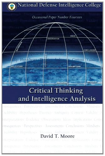 9781483975320: Critical Thinking and Intelligence Analysis (Occasional Paper Number Fourteen)