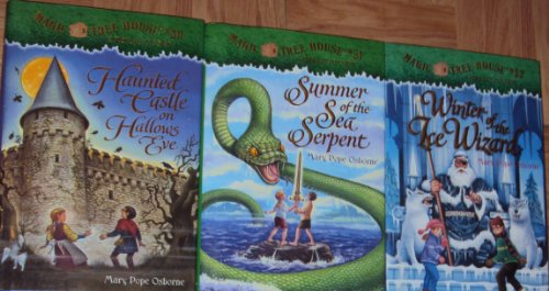 9781483995045: Magic Tree House Hardcover Books Set : #30 #31 # 32 - Haunted Castle on Hollows Eve - Summer of the Sea Serpent - Winter of the Ice Wizard (Magic Tree House)