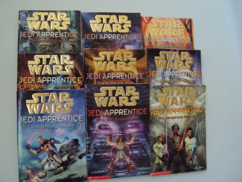 9781483995731: Star Wars Jedi Apprentice Book Set : The Evil Experiment - The Dangerous Rescue - The Deadly Hunter - The Shattered Peace - The Fight for the Truth - The Day of Reckoning - The defenders of the Dead - the Uncertain Path - The Captive Temple (Unofficial Box Set : #5 - 13)