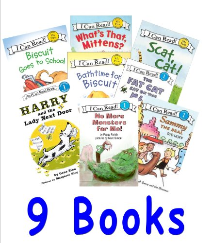 Level 1 Books: Biscuit's Big Friend; Biscuit and the New Pup; Biscuit Goes to School; No More Monsters for Me; Harry and the Lady Next Door (Children Book Sets : I can Read) (1484003497) by Peggy Parish; Syd Hoff; Mercer Mayer; Norman Birdwell; Stan Berenstain