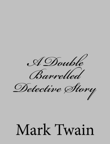 9781484004210: A Double Barrelled Detective Story