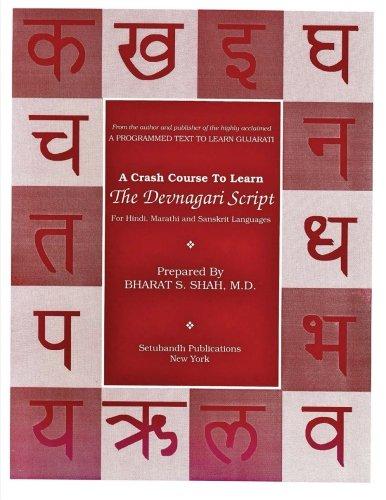 9781484015117: A Crash Course to Learn the Devanagari Script: Used for Hindi, Marathi, and Sanskrit Languages (Setubandh Language Series) (Volume 3)
