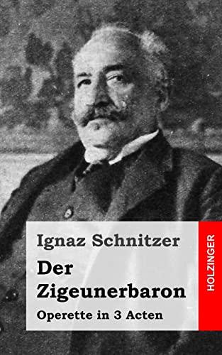 9781484022375: Der Zigeunerbaron: Operette in 3 Acten