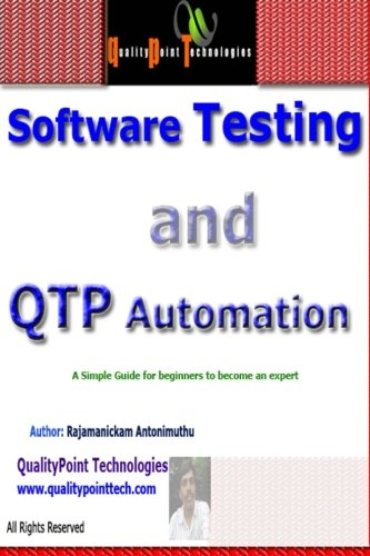 Software Testing and Qtp Automation (Paperback): Rajamanickam Antonimuthu