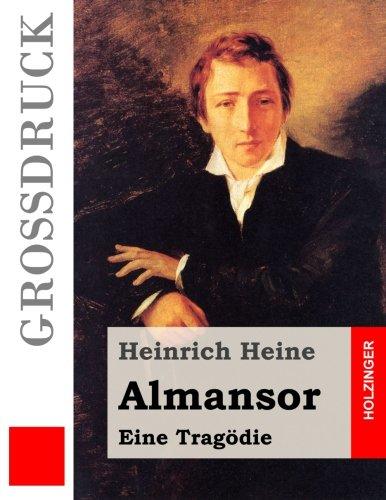 9781484040249: Almansor (Gro�druck): Eine Trag�die