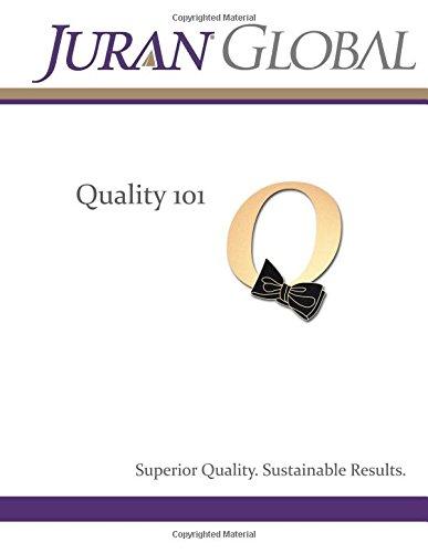 9781484040638: Quality 101