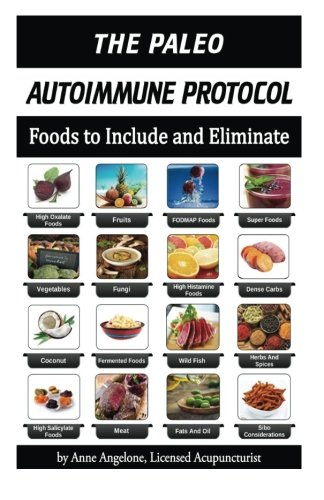 9781484045176: The Paleo Autoimmune Protocol:: Quick Reference FOOD CHARTS in COLOR