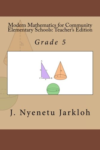 9781484053768: Modern Mathematics for Community Elementary Schools (Grade 5): Teacher's Edition
